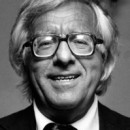 Author Ray Bradbury attends Nineth Annual Hemingway Contest on March 10, 1986 at Harry's Bar and Grill in Century City, California.