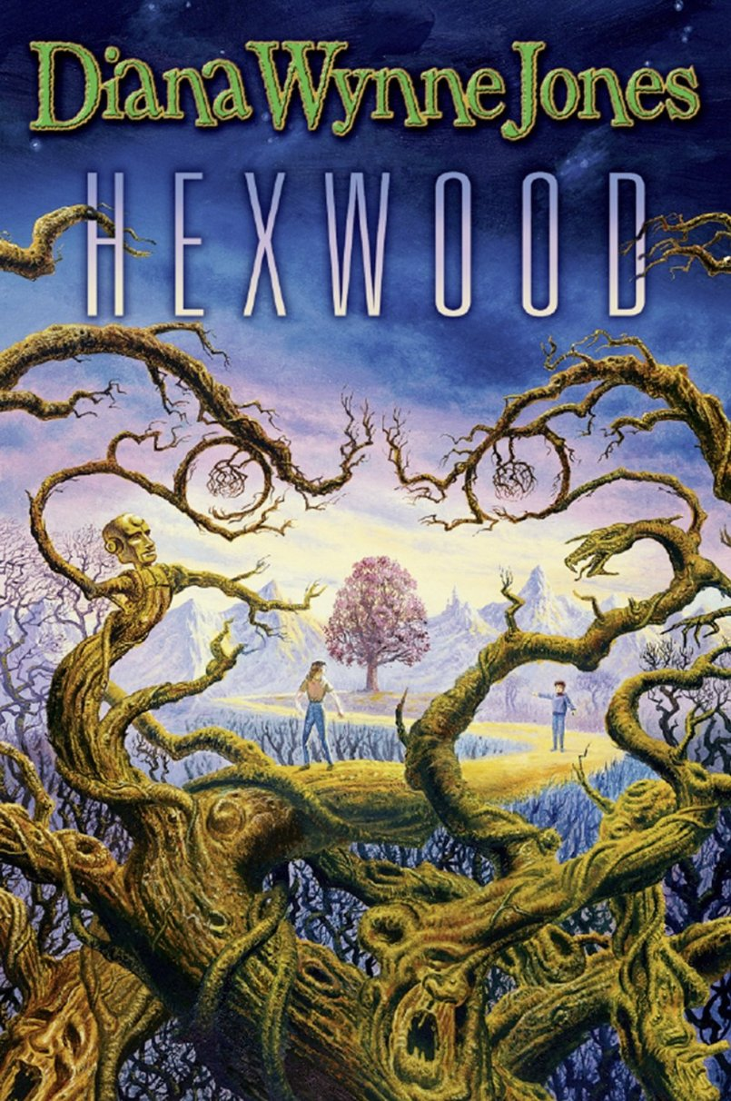 Cover of my second copy of Hexwood. I can't seem to find the image of my first copy's cover, which makes me wonder if I'm remembering it wrong.